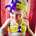 Mermaid Bikini Top with Matching Headband pattern
