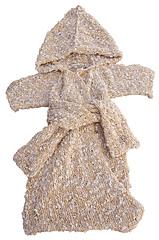 Spa Baby Bath Robe - Knitting Pattern