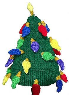 Christmas Tree Hat - Crochet Pattern