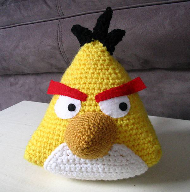 The Yellow Angry Bird Pattern By Angela Anderson
