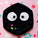 Studio Ghibli hexagon: Soot Sprite pattern