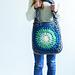 Ombré Circles Tote Bag pattern