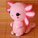 Amie the Axolotl pattern