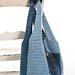 Denim shoulder bag pattern