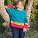 Basic Topdown Raglan Sweater pattern