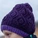 Lehekestega müts pattern