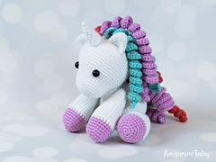 Do you like new look of Pretty Bunny? :)... - Amigurumi Today ... | 180x240