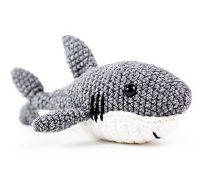 PATTERN: Shawn the shark Crochet shark pattern amigurumi | Etsy | 267x320