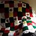 Strawberry Patchwork Blanket pattern