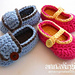 Baby Booties - Boy or Girl pattern