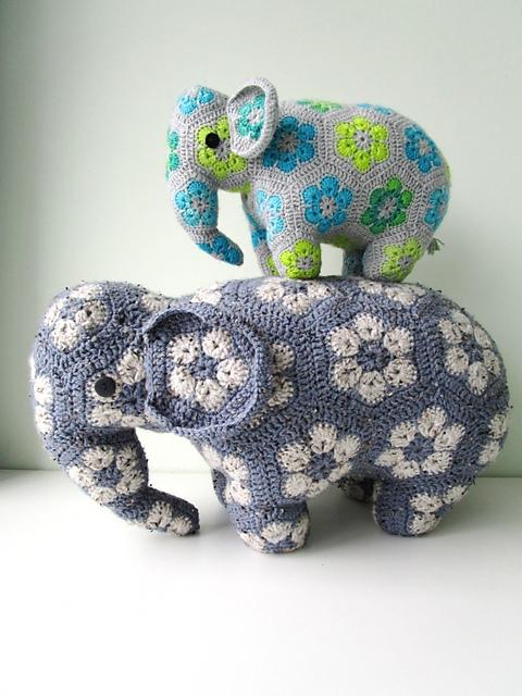 Elephant Baby Mobile, Crochet Elephant, Crochet Baby Gift ...   640x480
