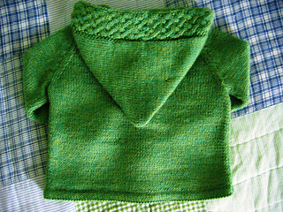 A cardigan for Merry - back