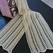 The 3 Prong Tool Lace Scarf pattern