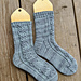 Cabled Socks for Everyone pattern