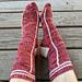 Varsity Beekeeper Socks pattern