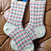 Mary, Mary Quite Contrary Socks pattern
