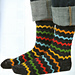 Rick Rack Socks pattern