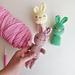 Easy Little Bunny Rabbit Ami pattern
