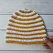 Striped Dylan Claire Beanie pattern