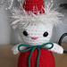 Amigurumi Christmas Kitty pattern