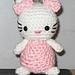 Amigurumi Crocheted Kitty pattern