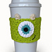Mike Wazowski Monster's Inc. Cup Cozy pattern