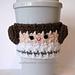 Crochet Princess Leia Cup Cozy pattern