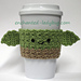 Yoda Coffee Cup Cozy pattern