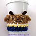 Beast Coffee Cup Cozy pattern