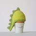 Dino Egg Cozy Crochet Pattern pattern