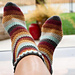 Herringbone Socks pattern