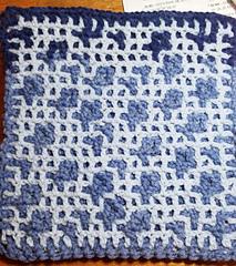 Back crocheted by Jennifer