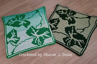 Crocheted by  Sharon  L. Dunn