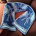 Bowties Scarf pattern