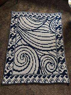 Interlocking crochet by Christine Schneider