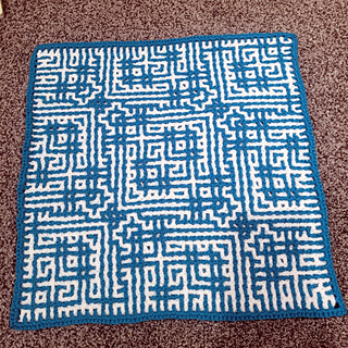 This is what the Wrong Side looks like when crocheted using the interlocking crochet method. If you do a pillow you likely won't see this.