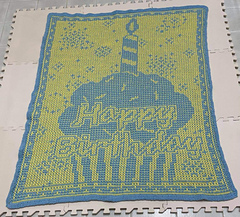 Crocheted by Ethel Louise Bradford