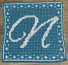 Mosaic crochet by aricrochetcorner