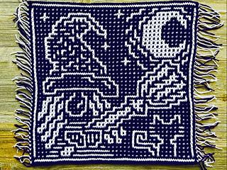 Mosaic crochet by CarolinevdB