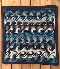 Mosaic sample by Angela Kermack