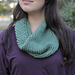 swirly smooshy cowl pattern
