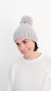 Bentley Free + Easy Knit Hat Pattern