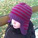 kid's earflap beanie pattern
