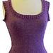 Cropped Vest pattern