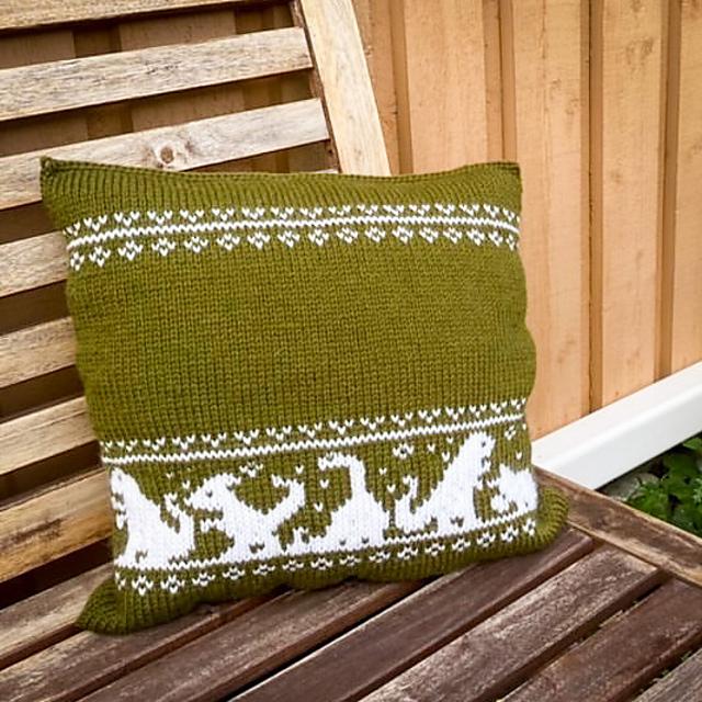 Dino friends pillow