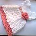 Pretty crochet baby dress pattern