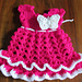 Butterfly baby dress pattern