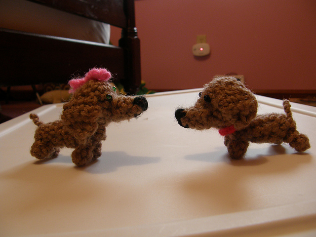 Amigurumi Dachshund Dog Keychain Crochet Free Pattern - Crochet ... | 480x640