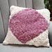 Diamond Chenille Cushion pattern
