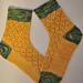 Fresh Pineapple Socks pattern